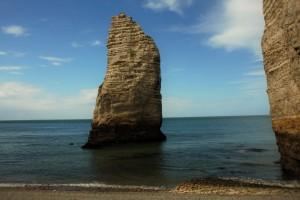 Normandie, dans cette fabuleuse faiblesse , Etretat